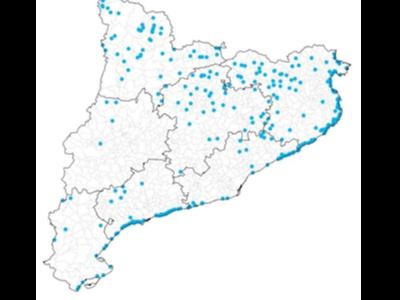 Activitats de càmping existents a Catalunya.