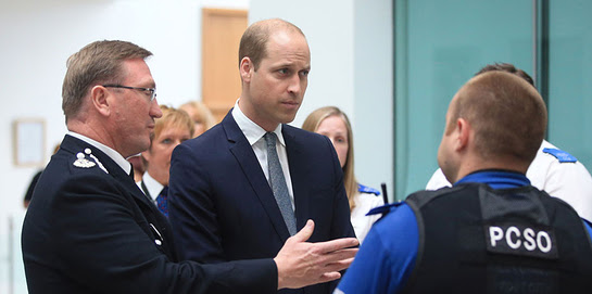 The Duke of Cambridge visits Manchester