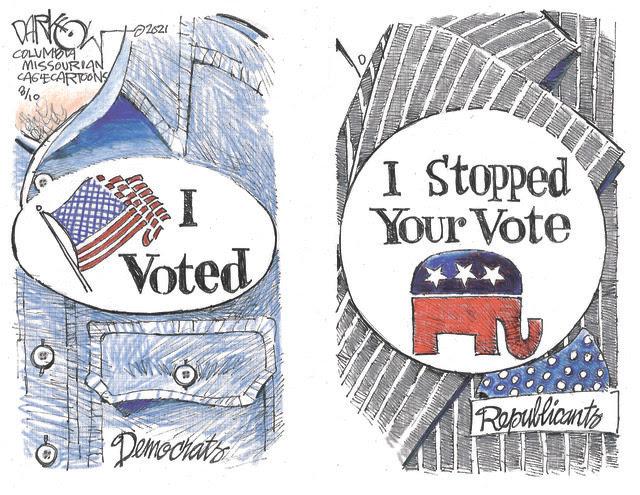 VOTE-SUPPRESSION-REPUBLICANS-VOTER-I-VOTED-STICKER-DEMOCRATS