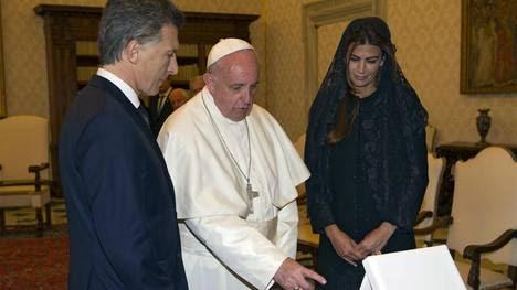 Primer encuentro entre Macri y el Papa Francisco