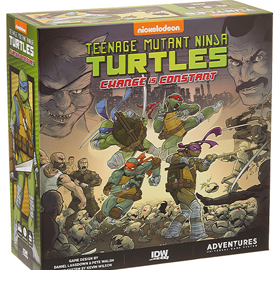 Teenage Mutant Ninja Turtles Adventures: Change is Constant Board Game
