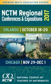 2017 NCTM Regional Conferences
