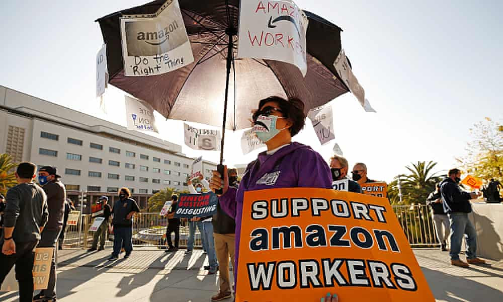 Union fight enters final stretch for Alabama Amazon workers