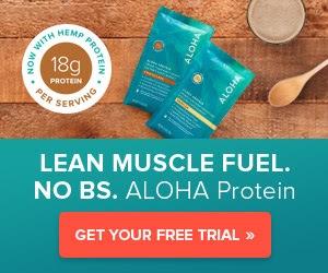 FREE Trial of ALOHA Protein...