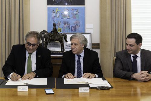 OEA y la Federación Latinoamericana de Bancos cooperarán en ciberseguridad<br>