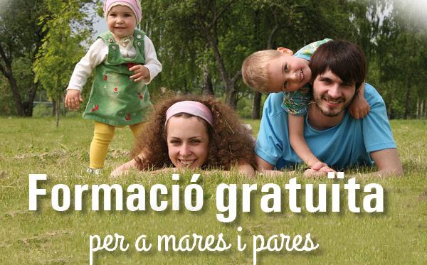 Formació gratuïta per a mares i pares