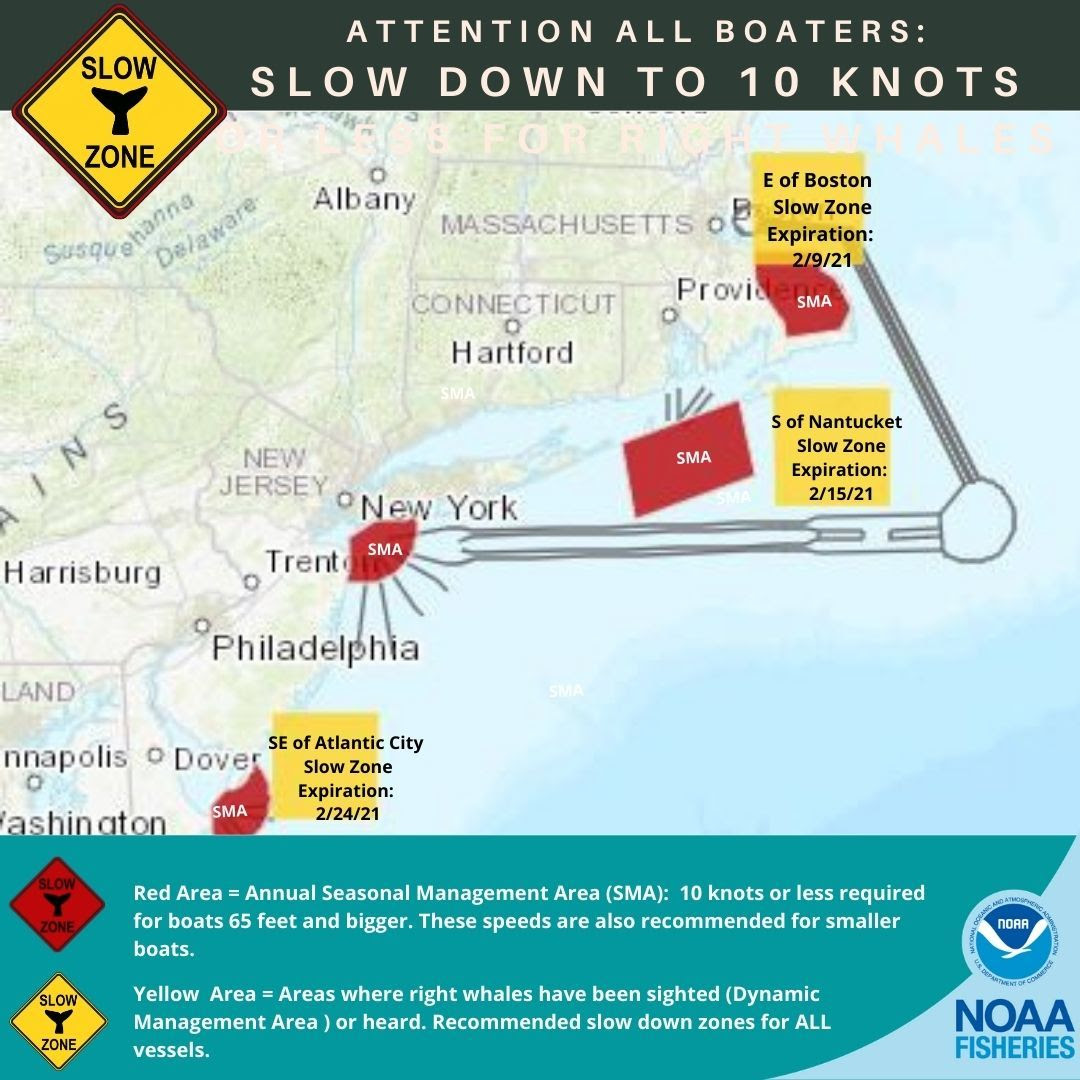 new slow zone off Atlantic City, NJ