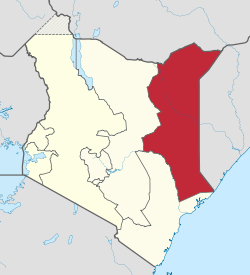 Kenya's North Eastern Province. (Wikipedia)