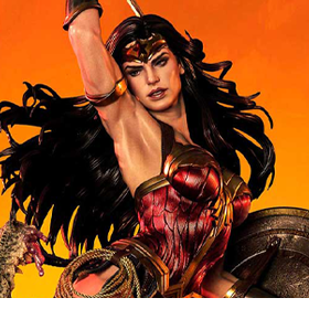 Wonder Woman Museum Masterline Wonder Woman Vs. Hydra 1/3 Scale Statue