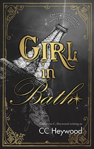 Girl in Bath by CC Heywood