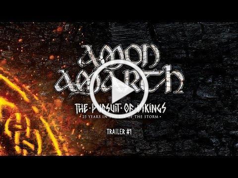 Amon Amarth - The Pursuit Of Vikings (Documentary Trailer #1)