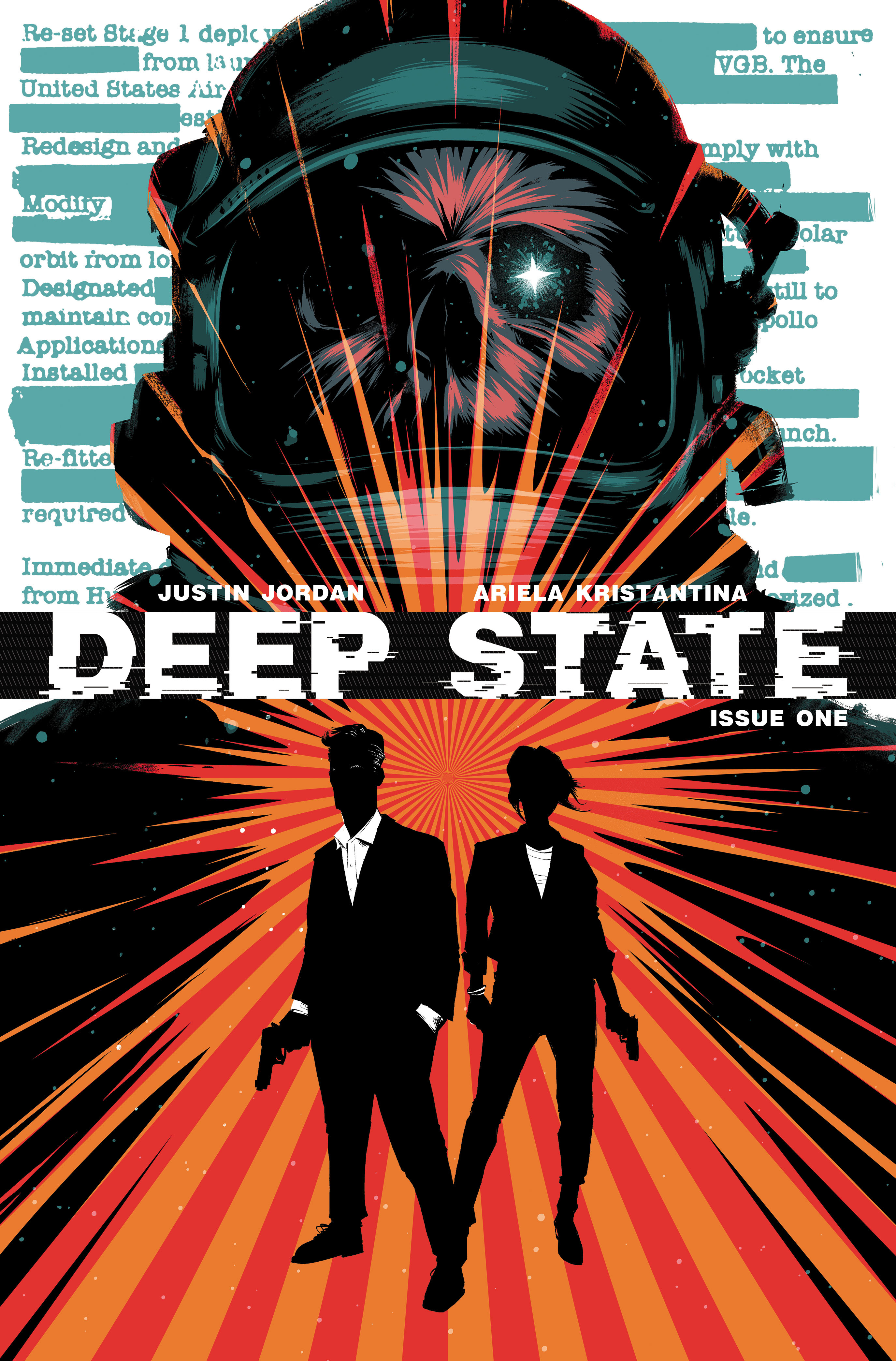 Deep State #1 Cover A