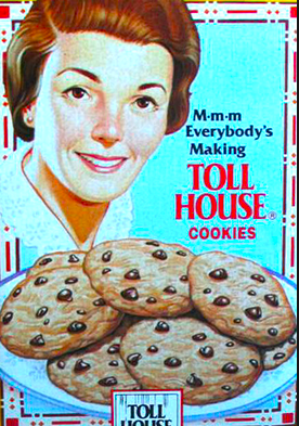 History of the Chocolate Chip Cookie In 1930, Ruth Graves Wakefield invented the choco…   Homemade cookies, Chocolate chip cookies, Delicious cookies homemade