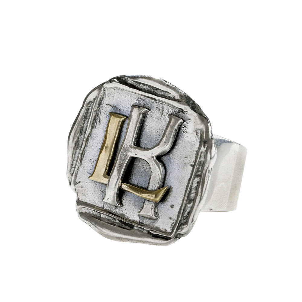 Intertwined Insignia Ring