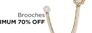 Brooches at Min.70% Off