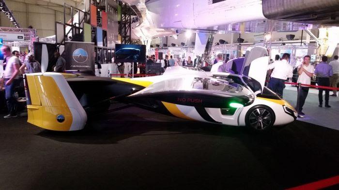 L'Aeromobil exposée au Bourget