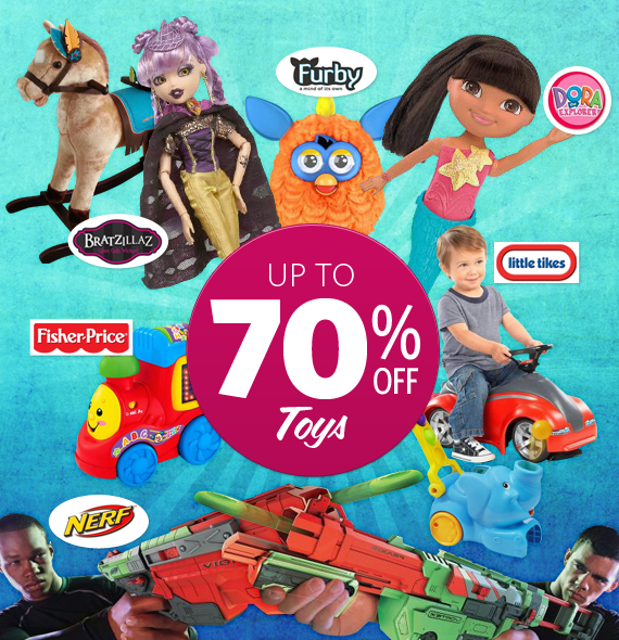 Save Up to 70% OFF Mega Toys Clearance at DealsDirect.com.au