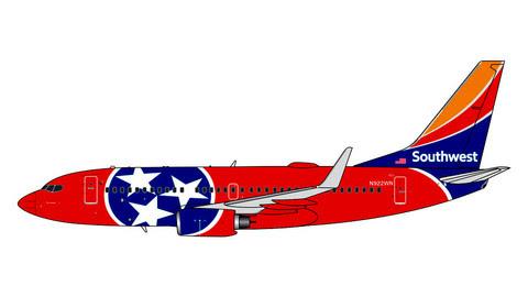 GJSWA1413   Gemini Jets 1:400 1:400   Boeing 737-700 Southwest N922WN   is due: February 2020