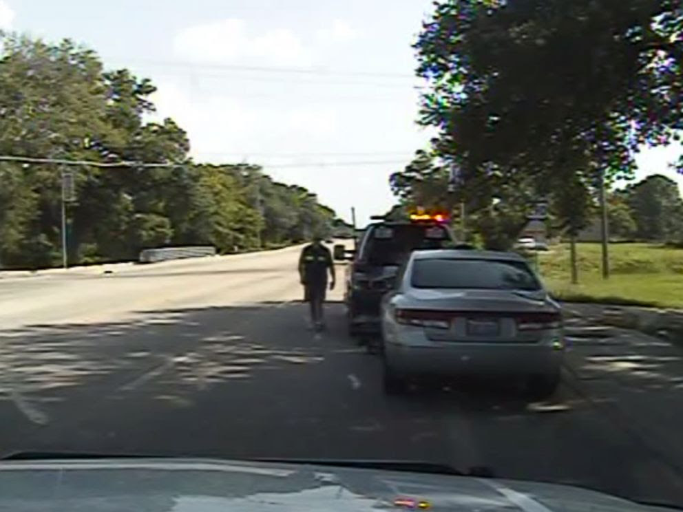 This Cop Forgot the Camera Was Rolling When He Did This…