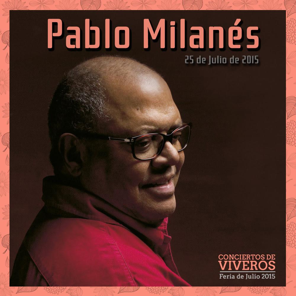 Concierto de Pablo Milanes en conciertos de viveros 2015