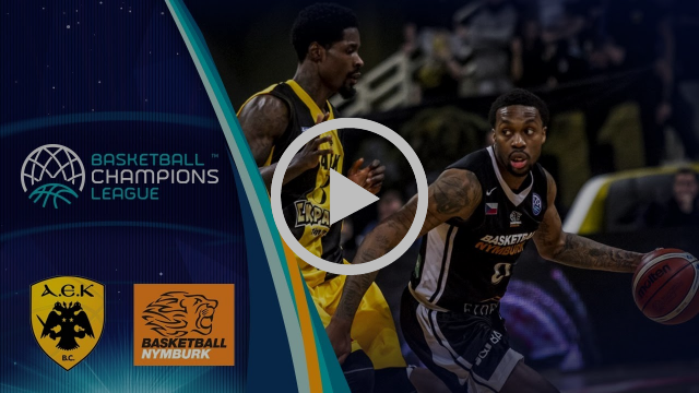 AEK v CEZ Nymburk - Highlights - Round of 16 - Basketball Champions League 2017-18