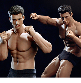 SUPER-FLEXIBLE 1/12 SCALE MALE SEAMLESS BODIES