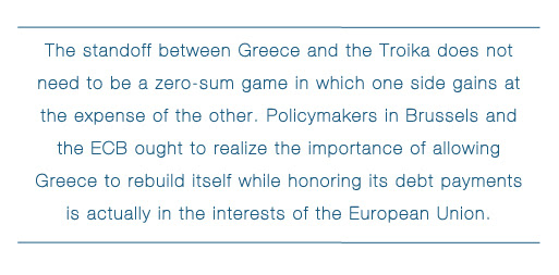 what conditions allowed the greek and