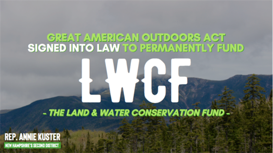 LWCF Signed into Law