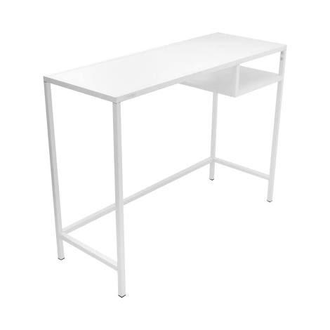 Meja Kantor Metal 100x36x74 Cm - Putih