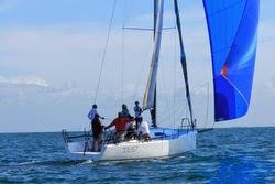 J/111 sailing off Sydney, Australia