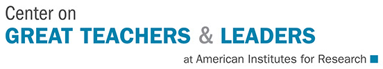 Center on Great Teachers and Leaders Logo