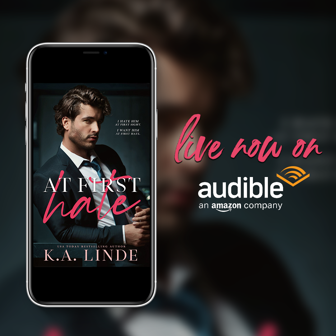 At First Hate live now on Audible!