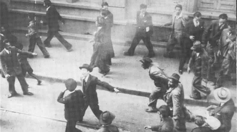 El asesino de Gaitán, Juan Roa Sierra, fue linchado por la multitud.