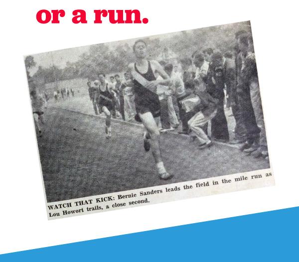 or a run.