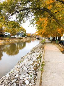 Stroll Along the quaint town of Broad Ripple