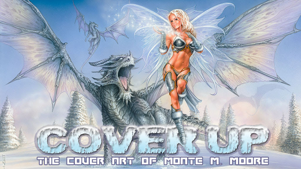 Cover Up! The Cover Art of Monte M. Moore