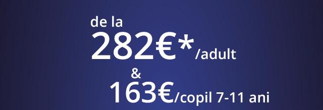 Vine vacanta cu trenul din franta! de la 282 euro/adult