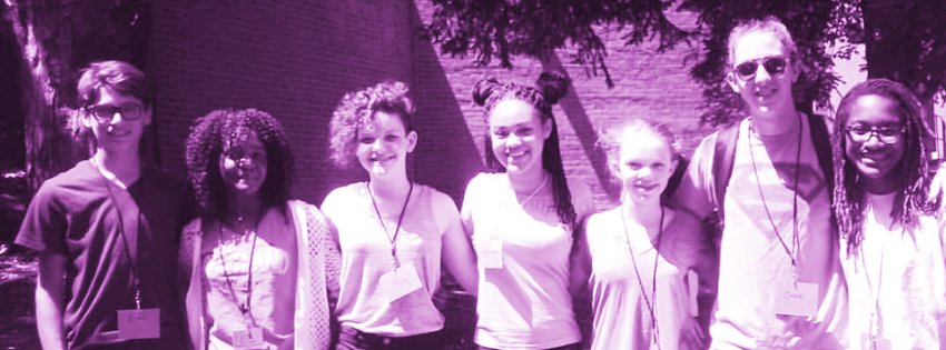 Photo of 6 teacher assistants from past session of Tanglewood Summer Camp