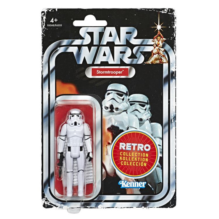 Image of Star Wars The Retro Collection Action Figures Wave 1 - Stormtrooper