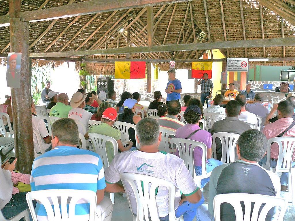 Consejo campesino en Cojedes de los Círculos Bolivarianos