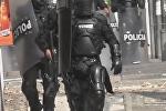 Disturbios en dos universidades de Bogotá en apoyo a indígenas