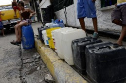 VENEZUELA-WATER-SHORTAGE