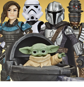 Star Wars Mission Fleet Defend the Child Pack