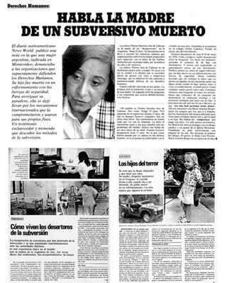 Imagen del artículo que salió publicado en la revista 'Para ti' con la falsa entrevista.