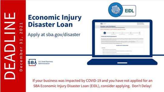EIDL Deadline