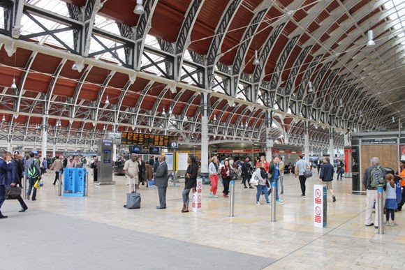 Paddington Station 24/7 – Officers from the British Transport Police launch special operation in the capital with the help of Network Rail colleagues
