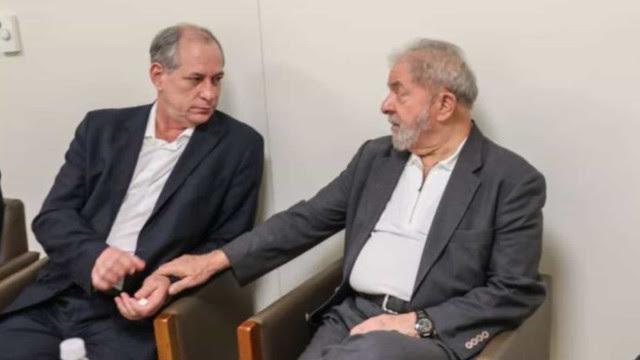 Ciro diz que Lula é 'mais bondoso que a burocracia do PT', mas que 'faz tudo com a mão de gato'