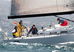 J/122 sailing Newport to Ensenada Race