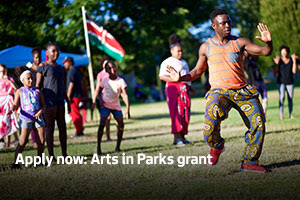 Apply now: Arts in Parks grant
