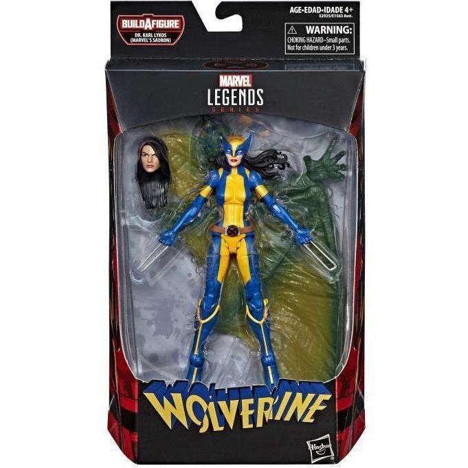 Image of Deadpool Marvel Legends Wave 2 (Sauron BAF) - Wolverine (X-23)